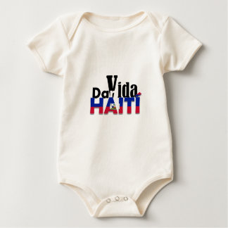 To give to Life Haiti Baby Bodysuit