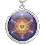 To glue Celta Galaxy Silver Plated Necklace