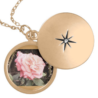 To glue Rose Royalty Gold Plated Necklace