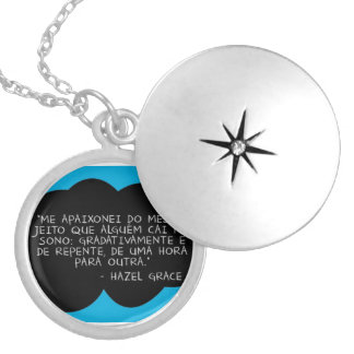 To glue Sentence the guilt is of the stars - Colle Silver Plated Necklace