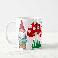To Gno-me is to Love me Coffee Mug