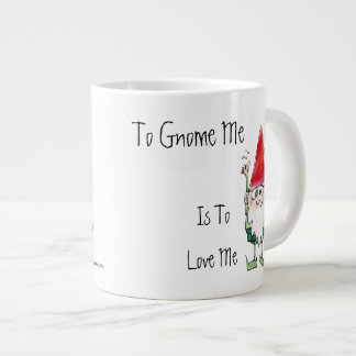 To Gnome Me is To Love Me Cartoon Mug
