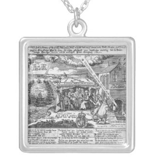 To God, in Memory of his Double Deliverance Pendants