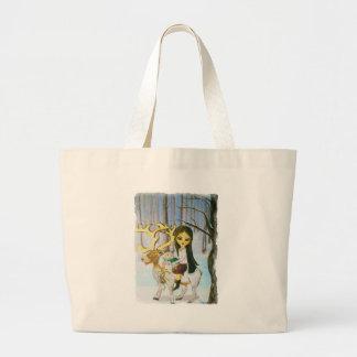 To Grandmas House we go.... Large Tote Bag