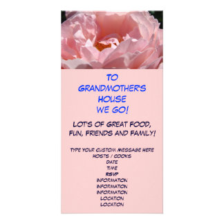 To Grandmother's House We Go! Holiday Invitations Personalized Photo Card