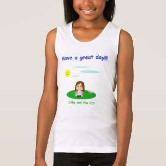"""""""To great day! """" Tank Top"""