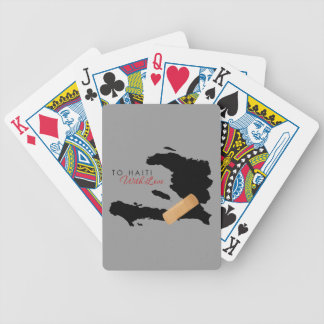 To Haiti, With Love Bicycle Playing Cards