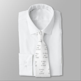 To Have and To Hold Tie