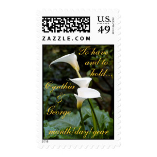 To have and to hold...Wedding Postage