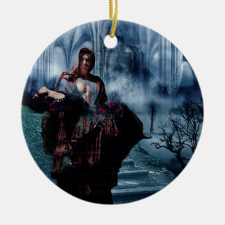 TO HAVE HER BACK AGAIN.jpg Ceramic Ornament