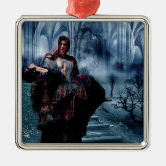 TO HAVE HER BACK AGAIN.jpg Metal Ornament