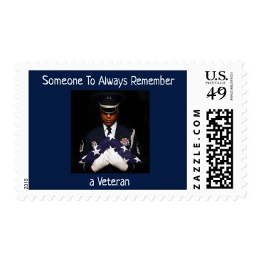 To Honor and Remember Veterans Postage
