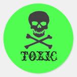 To)(ic Round Sticker