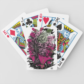 To inertia escape bicycle playing cards