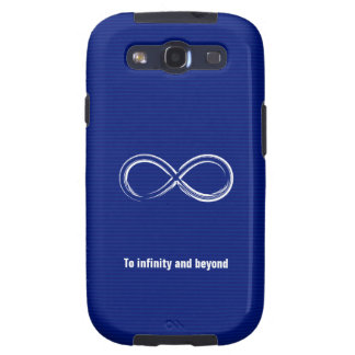To infinity and beyond Case Samsung Galaxy S3 Cases
