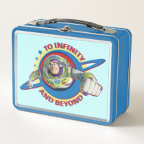 To Infinity and Beyond Logo Disney Metal Lunch Box