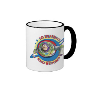 To Infinity and Beyond Logo Disney Ringer Coffee Mug