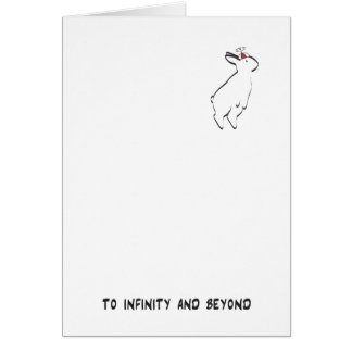 TO INFINITY CARD