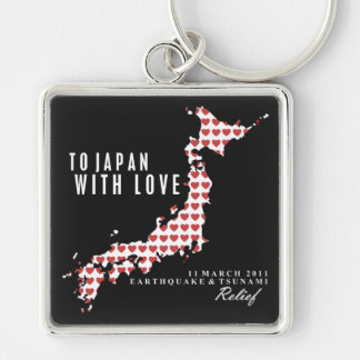 TO JAPAN, WITH LOVE KEYCHAIN