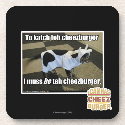 To katch teh cheezburger coaster