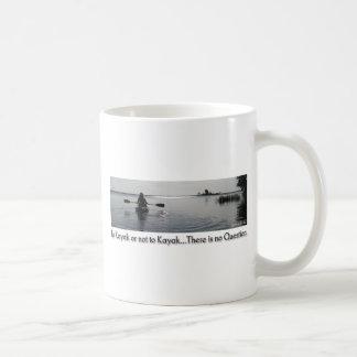 To Kayak or Not To Kayak Coffee Mug