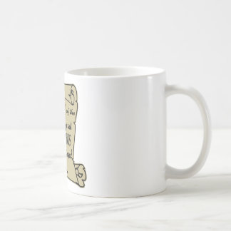 To Keep And Bear Arms Shall Not Be Infringed Scrol Coffee Mug