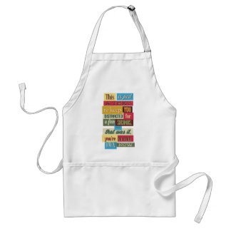 to keep you distracted great design adult apron