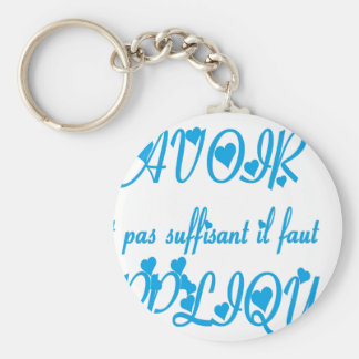 TO KNOW APPLIQUER.png Key Chain