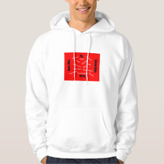 To know Him is to love Him. Hoodie