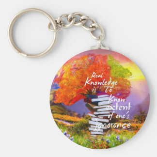 To know how much you ignore is the first step keychain