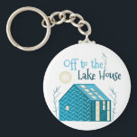 "To Lake House Keychain<br><div class=""desc"">Vacationing at the bay is lots of fun.  Take this fish to remember it always.</div>"