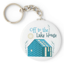 To Lake House Keychain