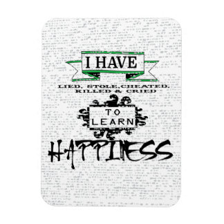 To Learn Happiness Rectangular Photo Magnet