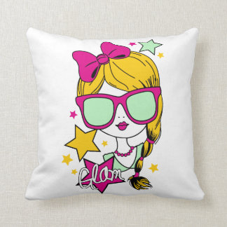 to lie down doll throw pillow
