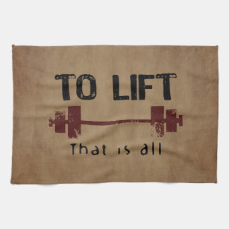 To Lift Bodybuilding Kitchen Towels