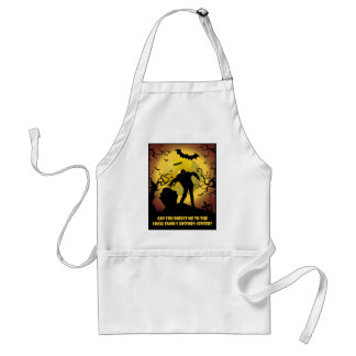 To Local Family History Center Adult Apron