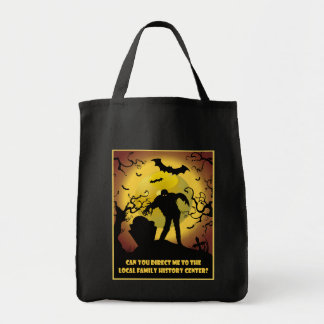 To Local Family History Center Grocery Tote Bag