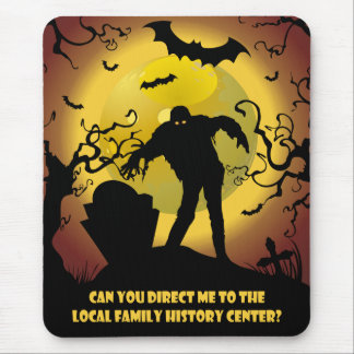 To Local Family History Center Mouse Pad