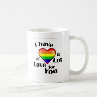 To lot of love coffee mug