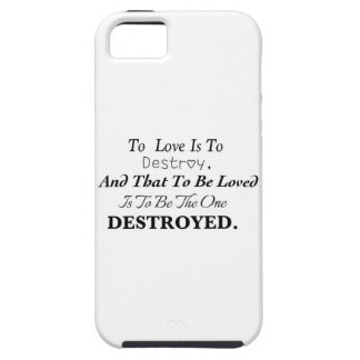 To Love Is To Destroy... iPhone SE/5/5s Case