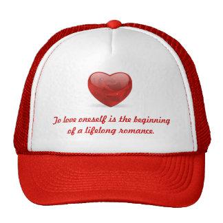 To love oneself is the beginning--Hat Trucker Hat