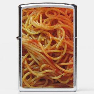 To Love Spaghetti Zippo Lighter