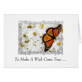 To Make A Wish Come True Card