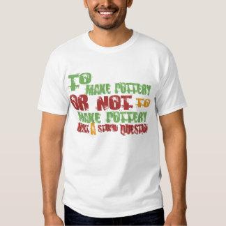 To Make Pottery T Shirt