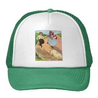 To market, to market, to buy a fat pig. trucker hat