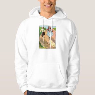 To market, to market, to buy a fat pig. hoodie