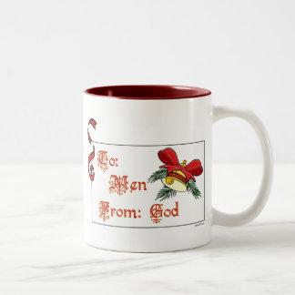 To Men Mug