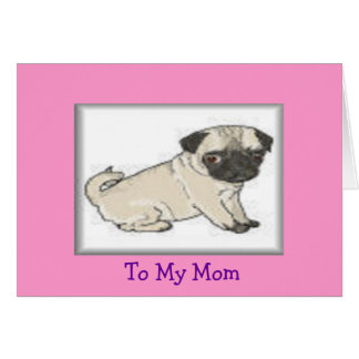 To Mom Greeting Card