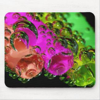 To mouse PAD carbonic acid vesicle bubble