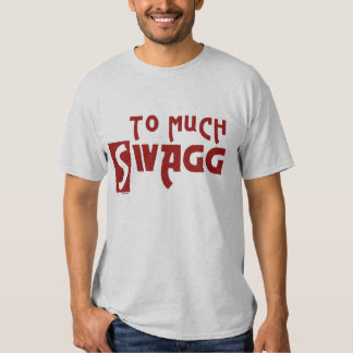 To Much Swagg Red T-shirts